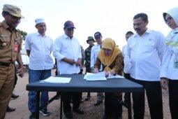 Gubernur Kalsel berkantor di Posko Karhutla Banjarbaru