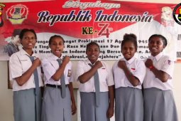 Pelajar SMAN 1 Cilegon Asal Papua Deklarasi Damai Untuk Papua