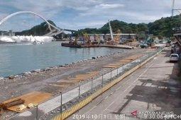 Jembatan runtuh di Taiwan, tiga WNI meninggal dunia