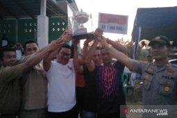 Tim Sepak Bola Desa Terap sukses taklukan Garuda Jeriji