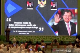Jusuf Kalla: masjid harus miliki fungsi ekonomi