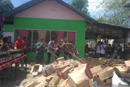 Polres musnahkan barang bukti minuman keras di Limboto