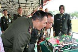 Korem Pantai Timur gelar upacara HUT Ke 74 TNI