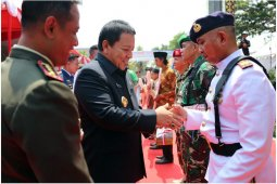 Gubernur Arinal Sampaikan Terima Kasih Atas Dedikasi Dan Integritas TNI-Polri Bagi Pembangunan Lampung