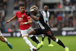 Newcastle bungkam Manchester United, skor: 1-0
