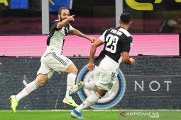 Juve hentikan rekor tak terkalahkan Inter