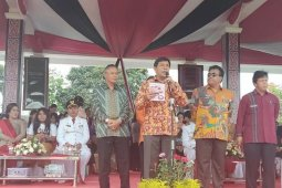 Wabup Samosir hadiri HUT Ke 74 Kabupaten Taput
