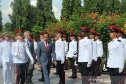 Presiden Joko Widodo bertemu PM Lee Hsien Long di Singapura