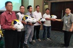 BPJS Ketenagakerjaan Pematangsiantar bagi helm peduli keselamatan pekerja