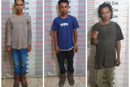 Polisi Langkat tangkap tiga pemilik narkotika