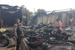 Polisi selidiki kebakaran ludeskan empat rumah di Singkawang