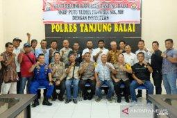 Kapolres Tanjungbalai ajak wartawan komitmen wujudkan situasi kondusif