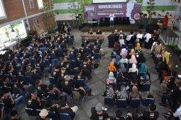 Ribuan relawan Brigade 01 Jabar kawal pelantikan Jokowi-Amin
