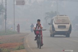 Kabut asap di Jambi