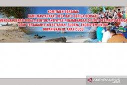 Tambang bijih timah pesisir pantai ditolak masyarakat Bangka Tengah