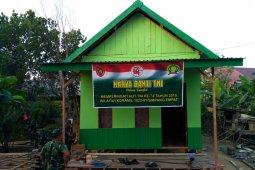 Bedah rumah wujud kepedulian TNI AD terhadap masyarakat