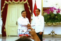 Jokowi: hubungan saya dengan Prabowo sangat mesra