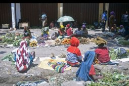 Pasar Sinakma Wamena normal kembali