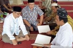Tuna netra Banjarmasin semangat baca Al-Qur'an