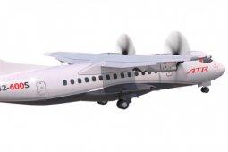 Pesawat baru ATR ini hanya perlu landasan 800 meter