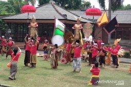 """Duta kesenian Bali bawakan """"Candra Bhawa"""" di Pekan Kebudayaan Nasional"""