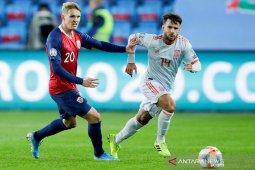 Kualifikasi Piala Eropa - Gol telat Norwegia tunda kelolosan Spanyol