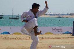 Zigi Zaresta melaju ke delapan besar World Beach Games