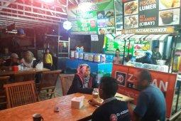 Camat Pandeglang pantau kondisi  Wisata Kuliner malam hari