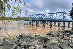 Pendangkalan Sungai Batanghari  sepuluh tahun terakhir meningkat signifikan