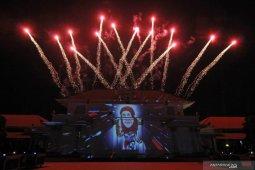Semarak puncak acara Hari Jadi Ke-74 Jawa Timur