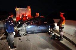 Mahasiwa kedokteran Unila meninggal dalam kecelakaan di tol trans Sumatera