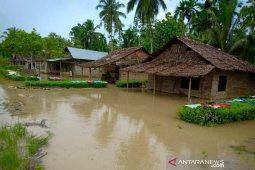 Ratusan rumah di Nias, Sumut  terendam banjir