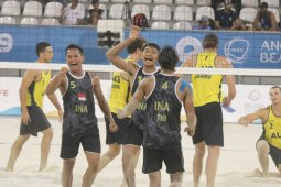 Tim Voli Pantai Indonesia lolos ke semifinal World Beach Games