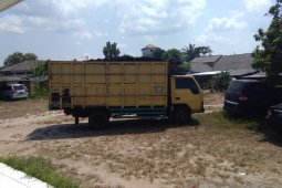 Polres Bangka Tengah amankan truk angkut enam ton besi smelter