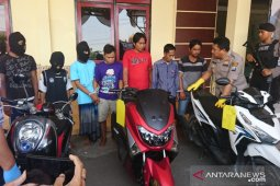 Polres Sampang bekuk lima penadah sepeda motor curian