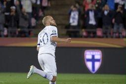 Finlandia cetak sejarah lolos ke putaran final Euro