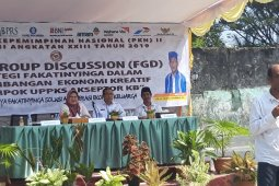 DPPKB Ternate kembangkan ekonomi kreatif manfaatkan  kelompok UPPKS