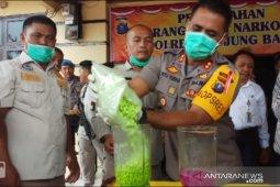 Polres Tanjungbalai musnahkan  18.880,43 gram sabu dan 9.840 butir ekstasi