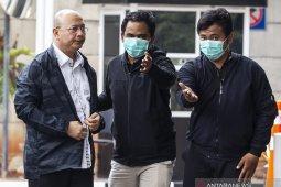 Wali Kota Medan Dzulmi Eldin tiba di Gedung KPK