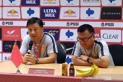 Kalah dari Indonesia, pelatih China U-19 beralasan pemainnya kelelahan