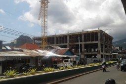 PUPR  Ternate berupaya rampungkan pembangunan  Gamalama plaza