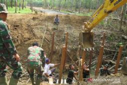 38 warga hibahkan tanahnya untuk program TMMD Kodim 1010 Rantau