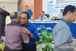 Prof Marthinus Saptenno kembali terpilih pimpin Unpatti Ambon