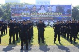 Pelantikan presiden, 1.700 personel gabungan amankan Jatim