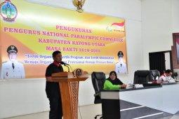 Pengukuhan Pengurus National Paralympic Committee Kabupaten Kayong Utara