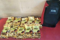 Polisi tangkap seorang ibu rumah tangga bawa 15 kilogram sabu milik suaminya