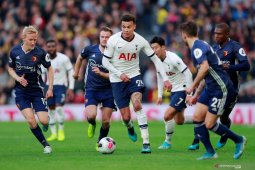 Hasil Liga Inggris: Gol Dele Alli selamatkan Tottenham dari kekalahan