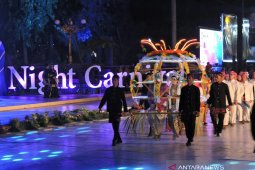 Tari Landhung Situbondo suguhan pembuka Jatim Specta Night Carnival 2019 (Video)