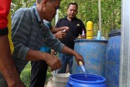Petani  Desa Kambitin terapkan pertanian ramah lingkungan