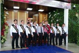 Gladi bersih pelantikan presiden dan wapres di Gedung MPR